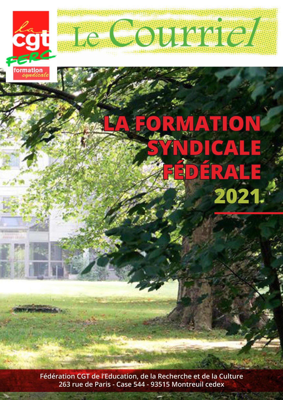 La formation syndicale fédérale 2021
